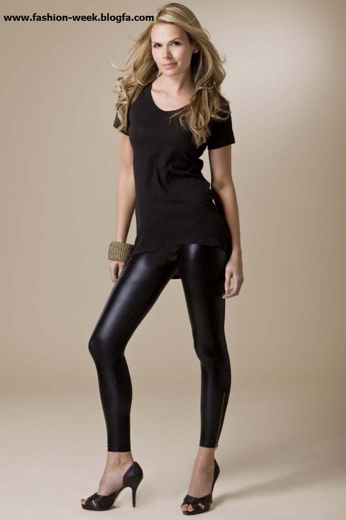 Legging leather calzas de cuero - 3 3